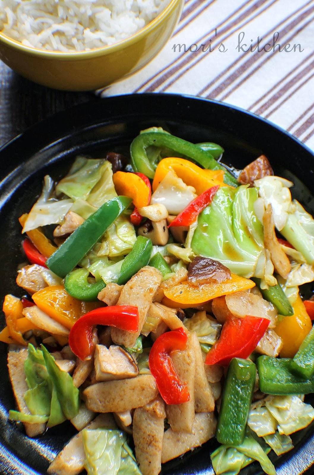 Mori's Kitchen: Sayur campur goreng sos tiram.