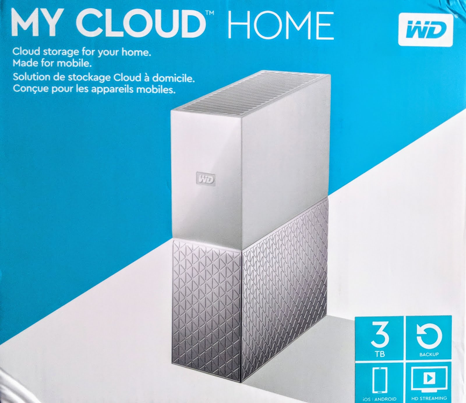 Unboxing the WD My CLoud Home Storage Device