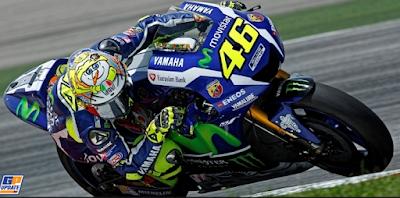 Video Aksi Legendaris Valentino Rossi vs Stoner Ketika Melakukan Tikungan Sepktakuler di balapan