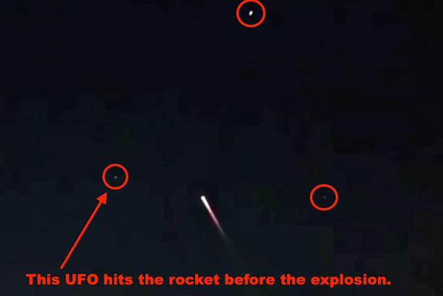 ¡Tres ovnis cerca del lanzamiento de un cohete y luego una explosión sobre Suzhou, China! 26 de diciembre de 2020 2