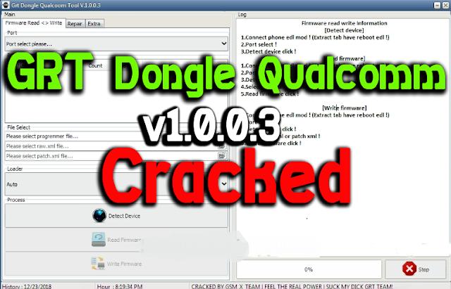 اخر اصدار من العملاق GRT Dongle Qualcomm V1.0.0.3 Full Cracked