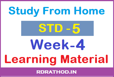 Class 5 Homework pdf Week 4 Download