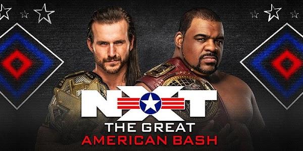 WWE NXT Great American Bash en Español 8 de Julio del 2020 Repetición