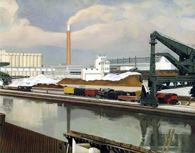 Charles Sheeler - American landscape,1930.