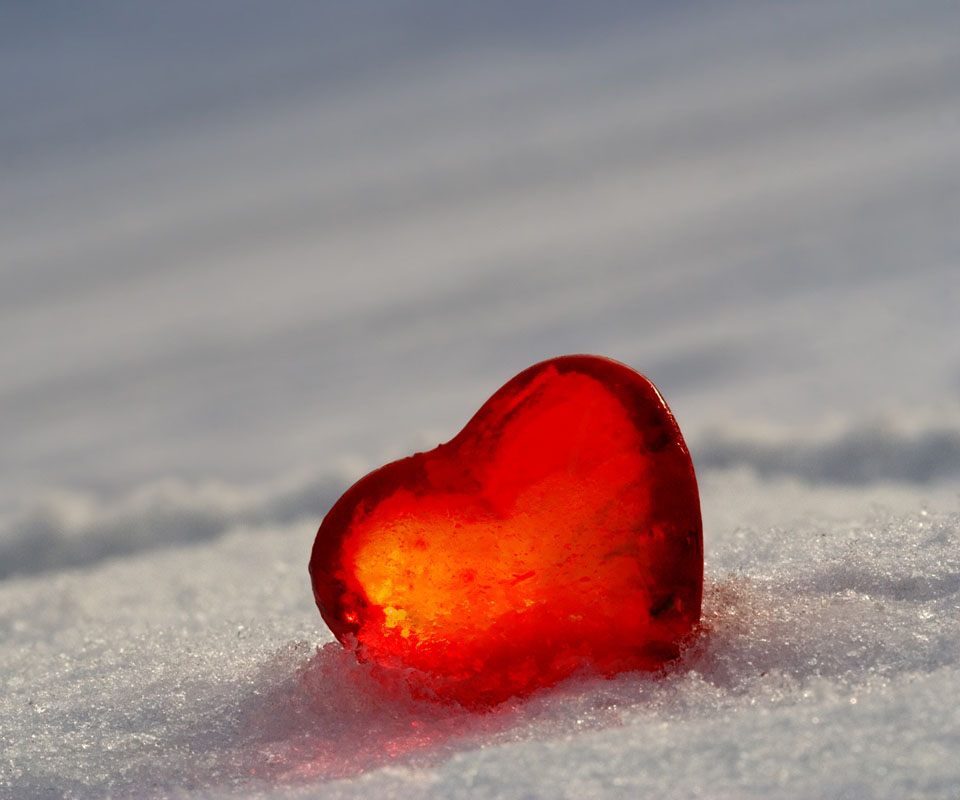 Pin Frozen Heart Wallpaper In 1366x768 Resolution Free ...