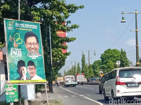 Baliho Muhaimin di Klaten Tak Sekeren Politisi Lain, PKB: Nyetak Sendiri