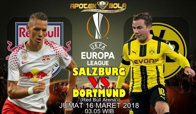 Prediksi Salzburg vs Borussia Dortmund 16 Maret 2018