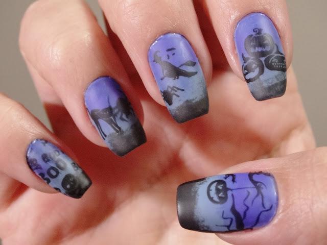 Nail Art Halloween Grazi E Suas Maluquices