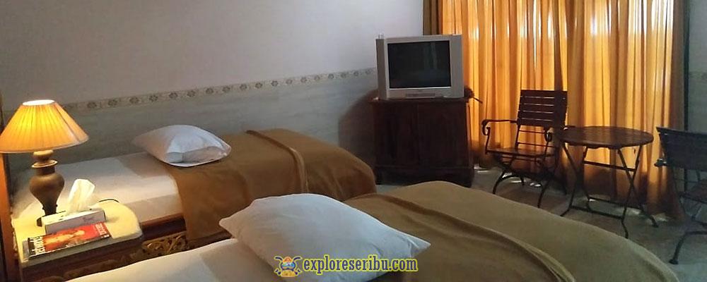 fasilitas kamar ciputih beach resort
