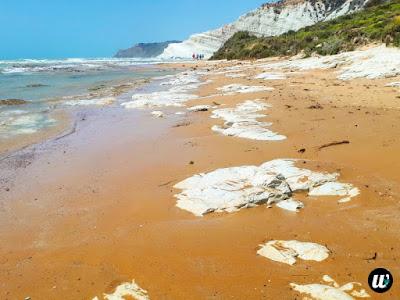 Lido Rossello white marl beach, Scala dei Turchi, Agrigento | Sicily, Italy | wayamaya
