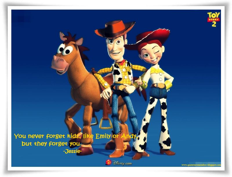 Quote To Remember Toy Story 2 1999