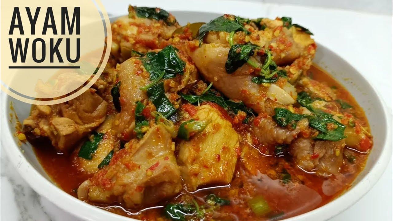 Resep Ayam Woku Harum Empuk dan Bumbu Meresap Sampai Daging Dalam