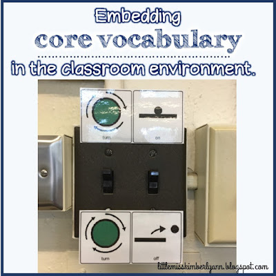 Core Vocabulary in the Special Education Classroom