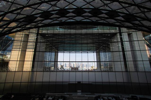 Vista dal Mall La Galleria-Abu Dhabi