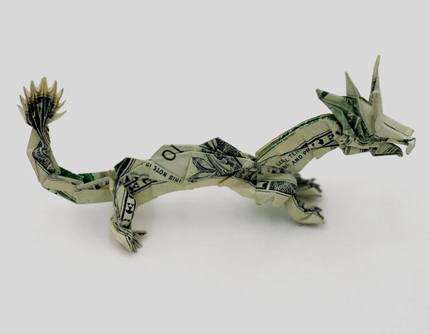 Money-Origami-Dragon