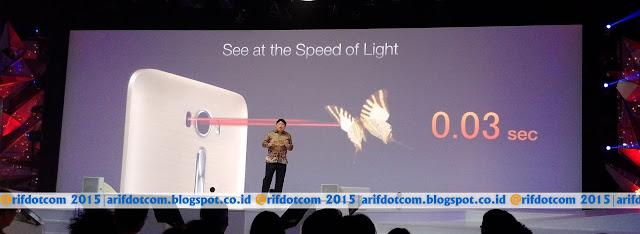 Zenfone 2 Laser smartphone termurah dengan Laser auto Focus 0.03s