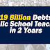 P319B Debts of Public School Teachers in 2 Years