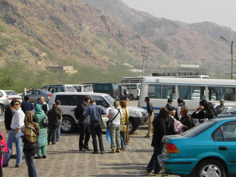 Parking Area, Khewra Salt Mines, Pakistan