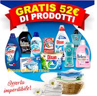 Logo Festa del Bucato con Casa Henkel : come avere 10 prodotti in regalo (risparmio di 52 euro)
