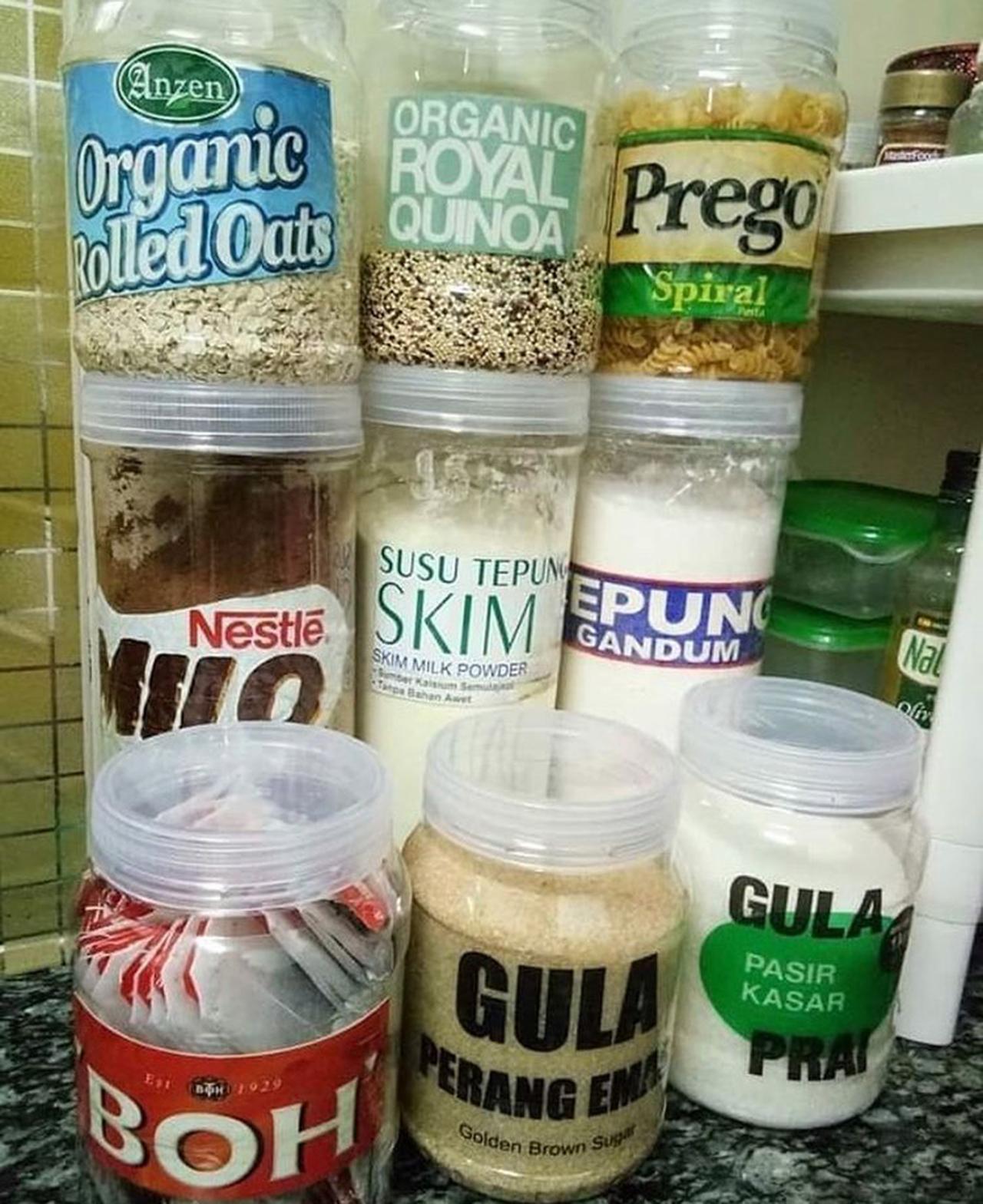 Label Kreatif Untuk Barang Dapur