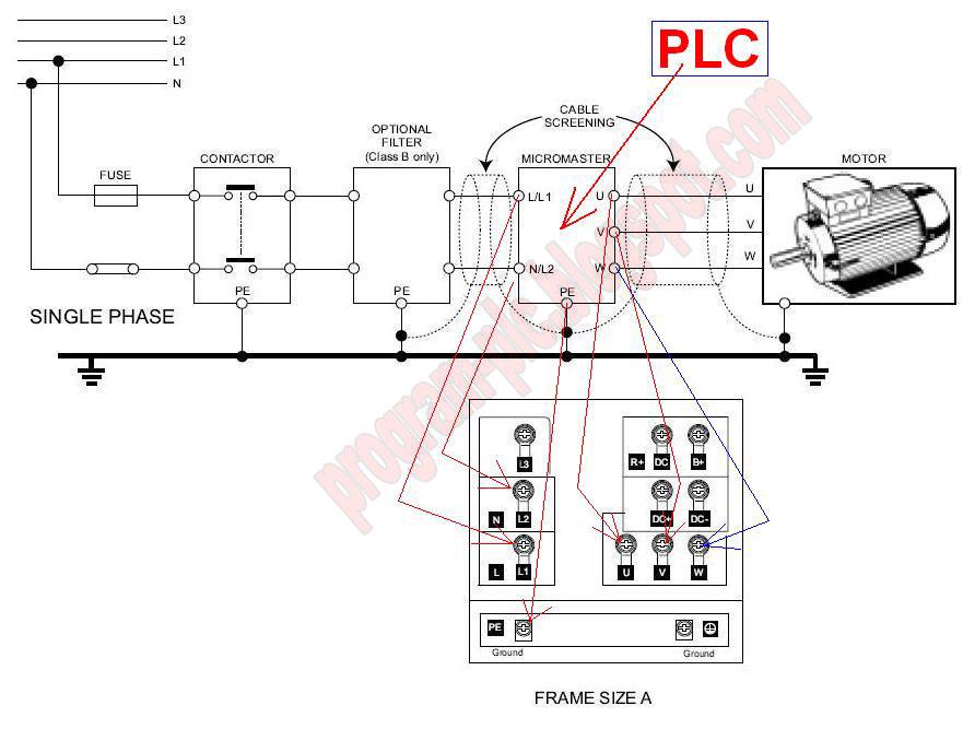 how to draw plc wiring diagram 2003 silverado stereo motor great installation of inverter rh program blogspot com control allen bradley