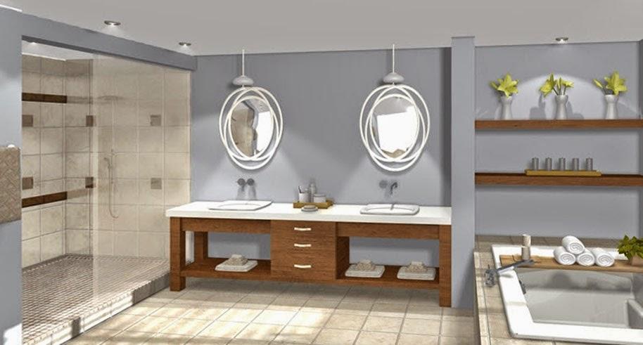 Sensational 3D Bathroom Design Software Free Largest Home Design Picture Inspirations Pitcheantrous