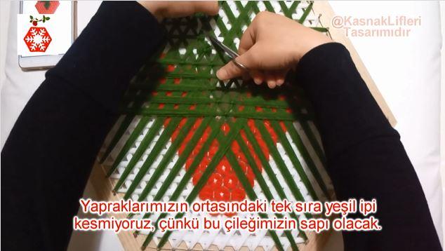 Çilek Lif Yaprak Sapı Nasıl Yapılır?