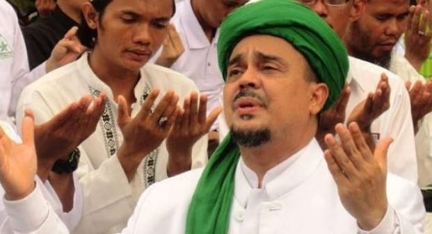 Merinding! Di Aksi 4 Nov, Peluru Polisi Balik Arah Saat Habib Rizieq Berdo'a