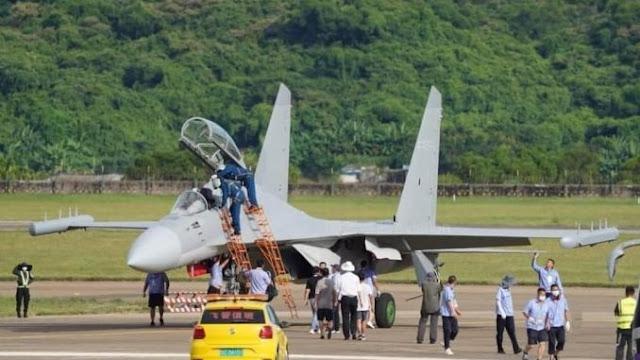 China Akan Rilis Pesawat Khusus Untuk Perang Elektronika J-16D