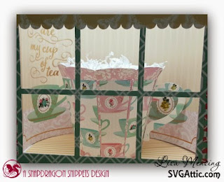 SVG Attic's Sweet Shop Party Cupcake Holder