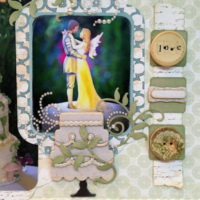 Wedding Page featuring Chiffon Collection by Quick Quotes designed by Alicia O'Bryant