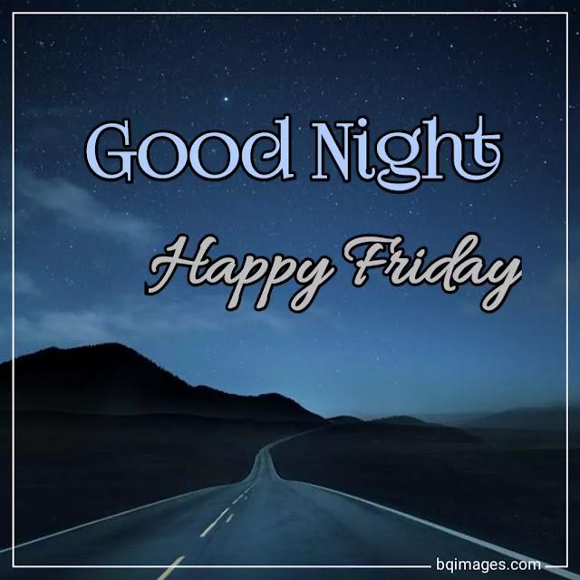 Good Night Friday Images