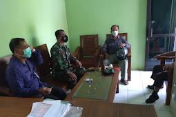 Kodim Sragen - Danramil Bersama BPP Kecamatan Gemolong Laksanakan Koordinasi Basmi Hama Tikus