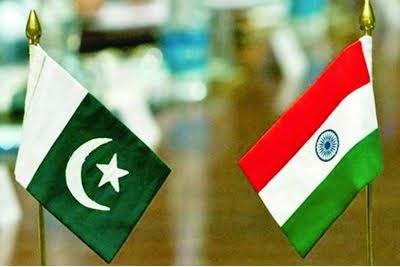indo-pak flags
