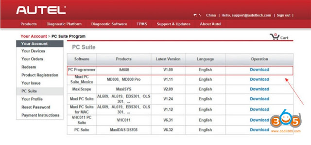 download-autel-XP400-software-3