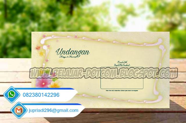 Download File Undangan Blangko ERBA 88103 Cdr Mudah Diedit