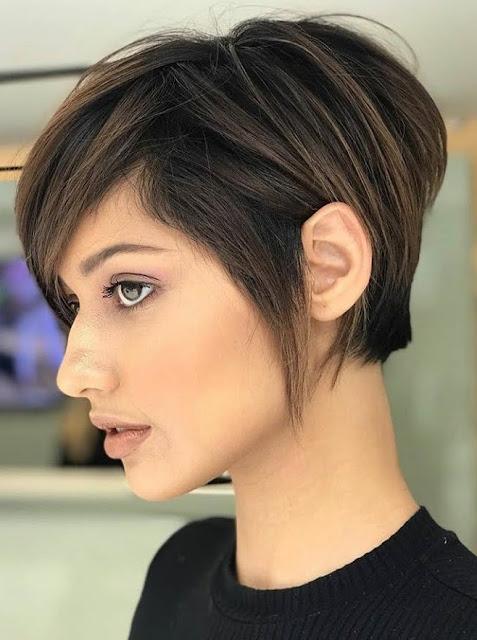 corte de pelo corto.2020