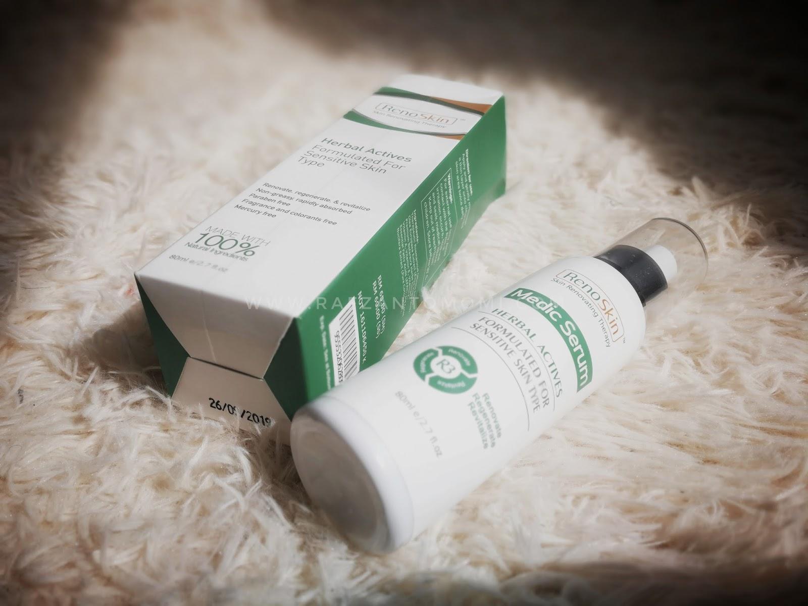 RenoSkin - Produk Medic Serum Serbaguna Yang Bebas Dari Kimia