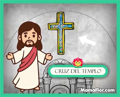 Cruz del Templo — Partes del Templo