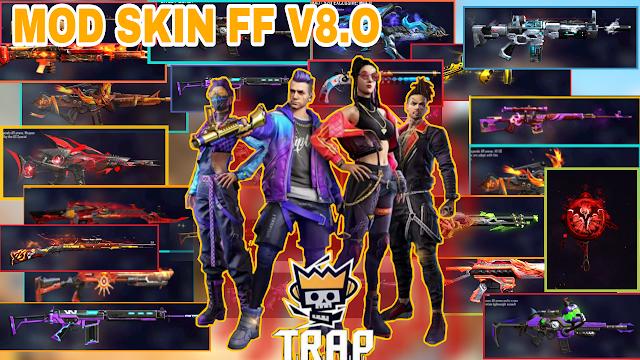 MOD SKIN FREE FIRE OB27 V8.0 - SKIN SÚNG VIP, TRANG PHỤC, HÀNH ĐỘNG + KHÔNG LỖI TÌM TRẬN| PTN FF