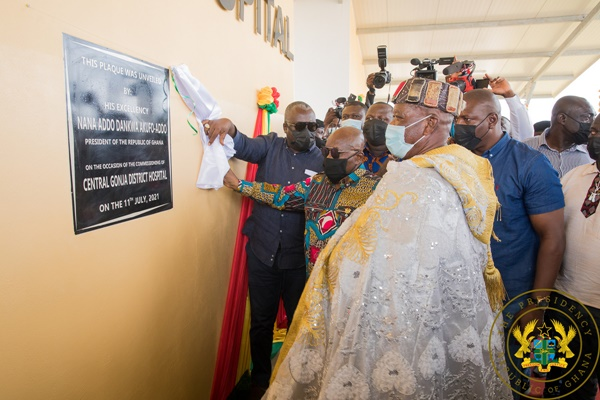 President Akufo-Addo Commissions 85-bed Central Gonja District Hospital