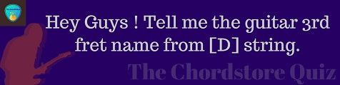 the chordstore quiz13