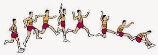 Teknik Lompat Jauh Gaya Berjalan Di udara
