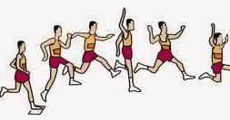 Cara Melakukan Lompat Jauh Gaya Berjalan Di Udara Walking In The Air Permainan Bola Voli
