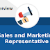 Walk in interview for Sales and Marketing Representative
