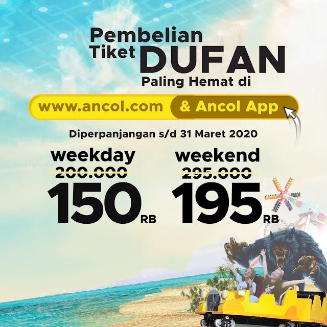 #Ancol - #Promo Tiket HEMAT Weekday & Weekend di Aplikasi & Web (s.d 31 Mar 2020)