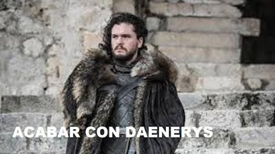 Jon Snow en Game of Thrones 8x05 y 8x06