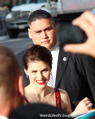 Alexandra Daddario at the San Andreas premiere
