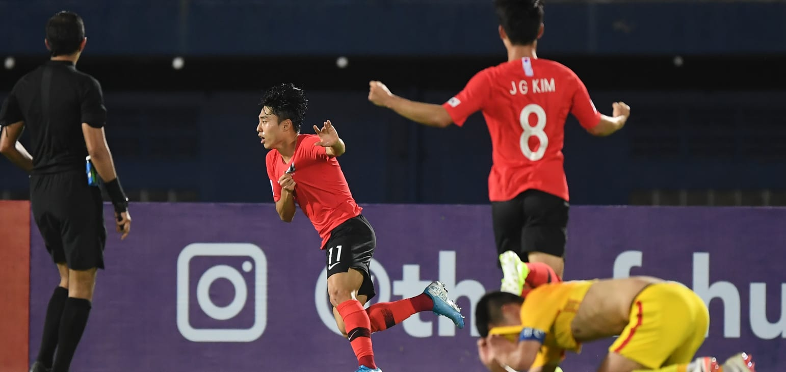 South Korea vs Jordan - AFC U23 Championship