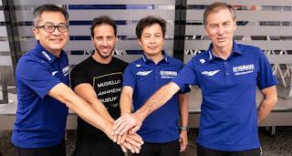 Fix Dovizioso Gabung Yamaha Hingga Musim 2022
